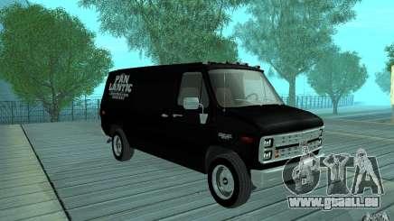 Chevrolet Van G20 1986 v2.0 pour GTA San Andreas