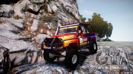 UAZ Hunter-Testversion v1. 0 für GTA 4