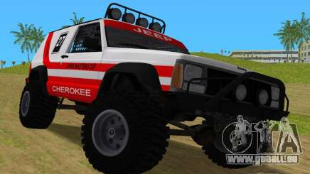 Jeep Cherokee 1984 Sandking pour GTA Vice City