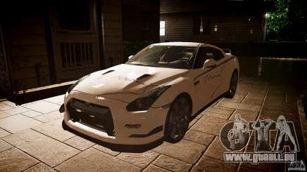 Nissan GT-R (R35) Mines 1.1 für GTA 4