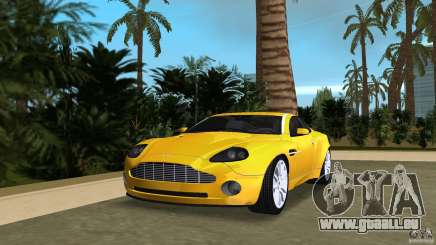 Aston Martin V12 Vanquish 6.0 i V12 48V v2.0 pour GTA Vice City