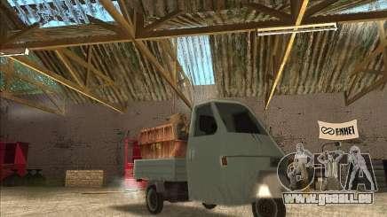 Ape Piaggio pour GTA San Andreas