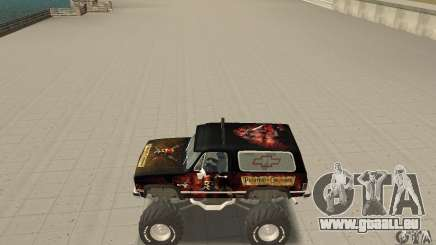 Chevrolet Blazer K5 Monster Skin 4 pour GTA San Andreas