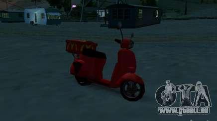 McDonalds Pizzaboy pour GTA San Andreas