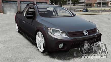 Volkswagen Saveiro Cross Edit pour GTA 4