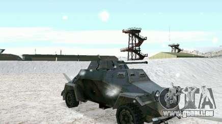 Transportpanzer des Spiels hinter den feindlichen Linien 2 für GTA San Andreas