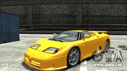Bugatti EB110 Super Sport pour GTA 4
