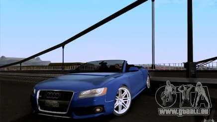 Audi S5 Cabriolet 2010 für GTA San Andreas