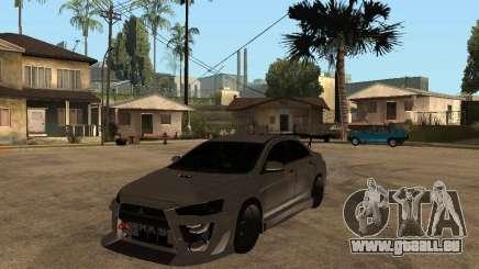 Mitsubishi Lancer Evolution X Drift Spec pour GTA San Andreas