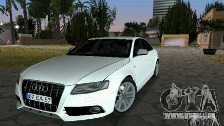 Audi S4 2010 für GTA Vice City