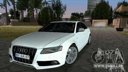Audi S4 2010 pour GTA Vice City