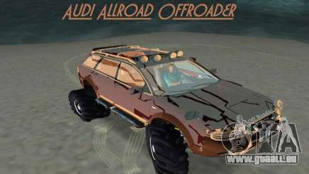 Audi Allroad Offroader pour GTA Vice City