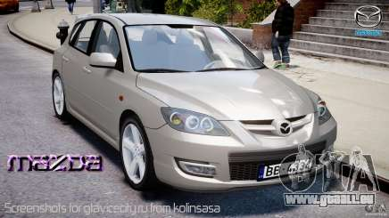 Mazda 3 2004 pour GTA 4