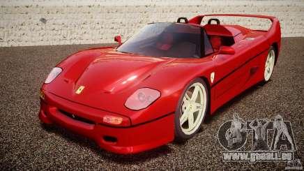 Ferrari F50 Spider v2.0 für GTA 4