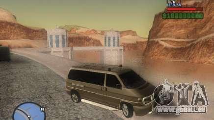 Volkswagen Multivan für GTA San Andreas