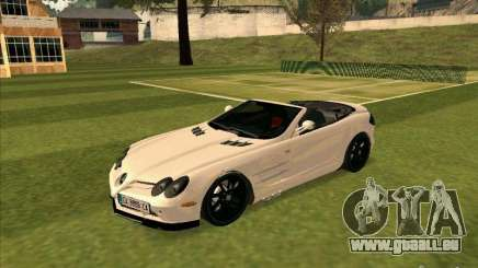 Mercedes-Benz SLR 722 Convertible für GTA San Andreas