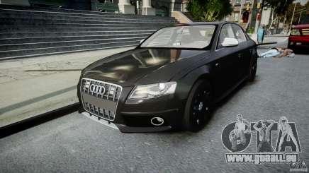 Audi S4 Unmarked [ELS] für GTA 4
