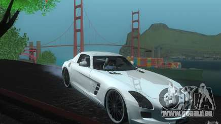 Mercedes Benz SLS HAMANN pour GTA San Andreas
