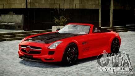 Mercedes-Benz SLS Roadster 2012 HAMANN HAWK AMG pour GTA 4