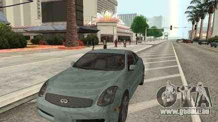 Infiniti G35 Coupe pour GTA San Andreas