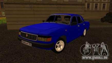 Volga GAZ 31029 pour GTA San Andreas