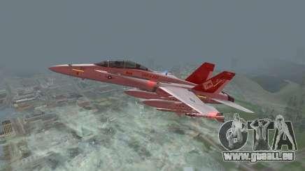 FA-18D Hornet pour GTA San Andreas