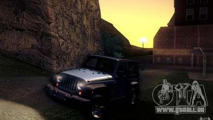 Jeep Wrangler Rubicon 2012 pour GTA San Andreas
