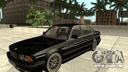 BMW E34 Alpina B10 Bi-Turbo pour GTA San Andreas