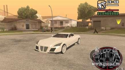 Maybach Exelero für GTA San Andreas