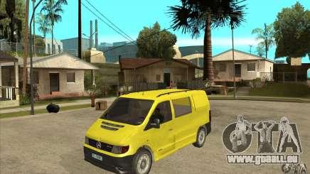 Mercedes-Benz Vito 112CDI pour GTA San Andreas