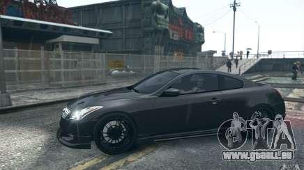 Infiniti G37 Coupe Carbon Edition v1.0 pour GTA 4