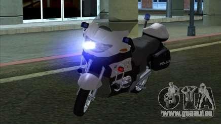 BMW R1150RT Cop copbike für GTA San Andreas