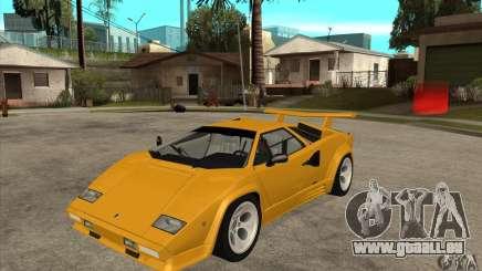 Lamborghini Countach für GTA San Andreas
