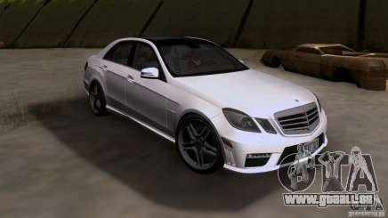 Mercedes-Benz E63 AMG V12 TT Black Revel für GTA San Andreas