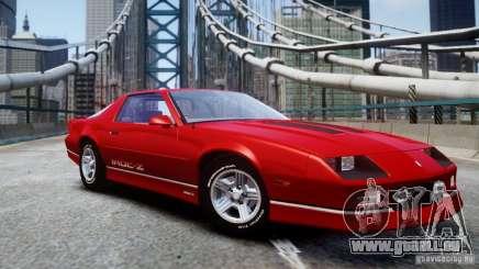 Chevrolet Camaro 1990 IROC-Z v1.5 pour GTA 4