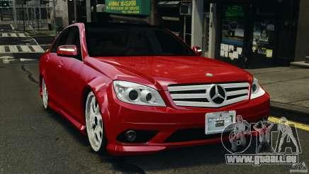 Mercedes-Benz C350 Avantgarde v2.0 pour GTA 4