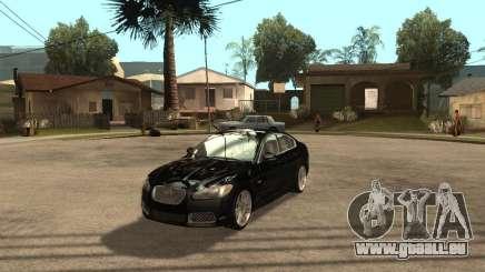 Jaguar XFR 2009 für GTA San Andreas