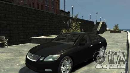Lexus GS450 2006 pour GTA 4