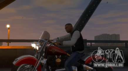 Harley-Davidson Fat Boy Lo (Vintage final) pour GTA 4