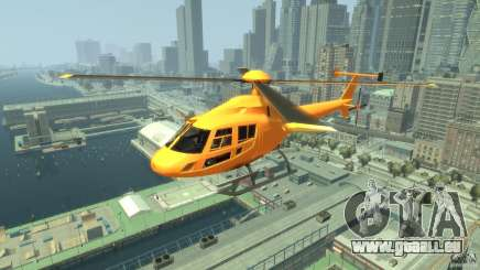 Helicopter From NFS Undercover für GTA 4