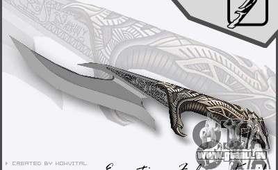 EGYPTIAN FALCON KNIFE V1.0 für GTA San Andreas