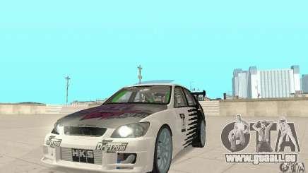 Lexus IS300 Drift Style pour GTA San Andreas