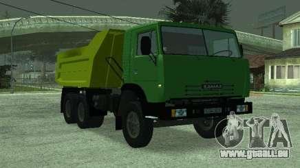 KAMAZ 55112 pour GTA San Andreas