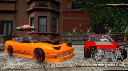 Nissan 240SX Korch für GTA 4