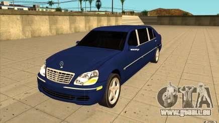 Mercedes-Benz S600 Pullman W220 pour GTA San Andreas