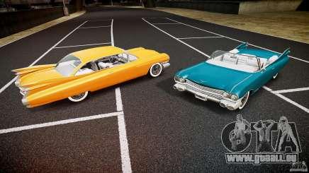 Cadillac Eldorado 1959 interior white pour GTA 4
