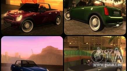Mini Cooper S Cabrio für GTA San Andreas
