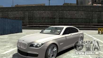 BMW 750i F01 v3 pour GTA 4