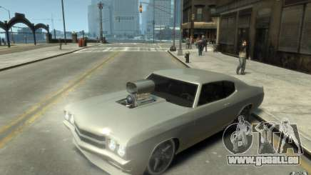 Chevrolet Chevelle SS Tuning 1970 pour GTA 4