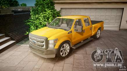 Ford F350 Stock pour GTA 4